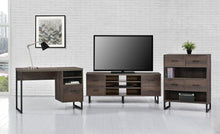 Load image into Gallery viewer, Ameriwood Home Candon Desk, Distressed Brown Oak