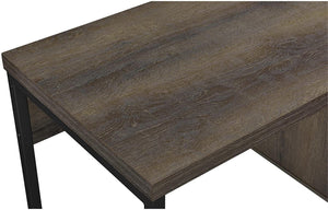 Ameriwood Home Candon Desk, Distressed Brown Oak