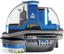 Load image into Gallery viewer, Bissell SpotBot Pet handsfree Spot and Stain Portable Deep Cleaner, Blue, 2117A