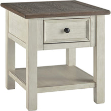 Load image into Gallery viewer, Signature Design by Ashley Bolanburg Chair Side End Table Two-tone