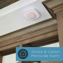 Load image into Gallery viewer, Alexa Enabled Smoke Detector and Carbon Monoxide Detector Alarm with Premium Home Speaker | Onelink Safe & Sound by First Alert
