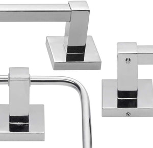 Globe Electric 51415 Camden 5-Piece All-In-One Bathroom Set, Bronze