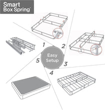 Load image into Gallery viewer, Zinus Armita 5 Inch Low Profile Smart Box Spring / Mattress Foundation / Strong Steel Structure / Easy Assembly Required, King