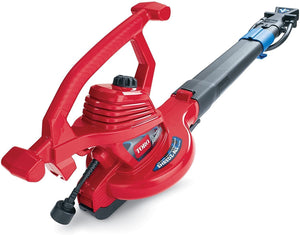 Toro 51621 UltraPlus Leaf Blower Vacuum, Variable-Speed (up to 250 mph) with Metal Impeller, 12 amp (Red)