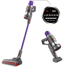 Load image into Gallery viewer, JASHEN V16 Cordless Vacuum Cleaner, 350W Strong Suction Stick Vacuum Ultra-Quiet Handheld Cordless Vacuum Wall Mounted Dual Charging for Carpet Hardwood Floor Rug Pet Hair