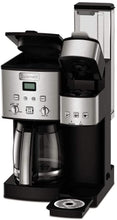 Load image into Gallery viewer, Cuisinart SS-15P1 Coffee Center 12-Cup Coffeemaker and Single-Serve Brewer, Silver
