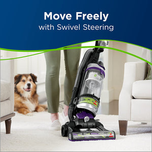 Bissell 22543 Clean view Swivel Rewind Pet Vacuum And Carpet Cleaner, Purple