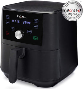 Instant Vortex Air Fryer 4 in 1, Best Fries Ever, Roast, Bake, Reheat, 6 Qt, 1700W