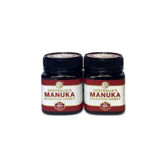 Australia's Manuka Honey MGO550+ 250g Value 2Pk