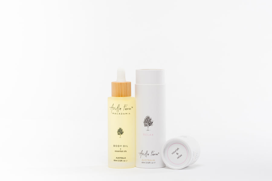 60ml RELAX Botanical Body Oil from Avilla Farm