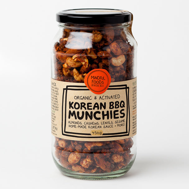 Irresistible Snacks: Korean BBQ Munchies by Mindful Foods