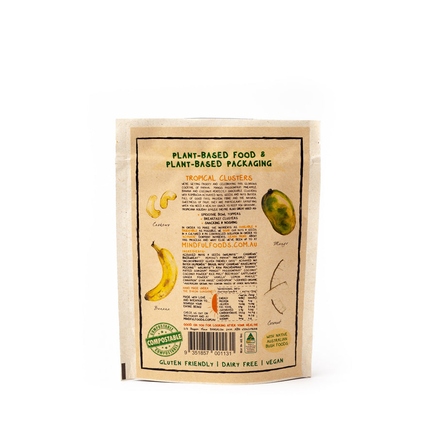 Irresistible Snacks: Activated Organic Tropical Clusters by Mindful Foods