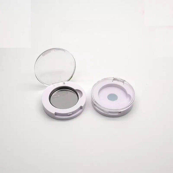 Refillable Magnetic White Eyeshadow Compact