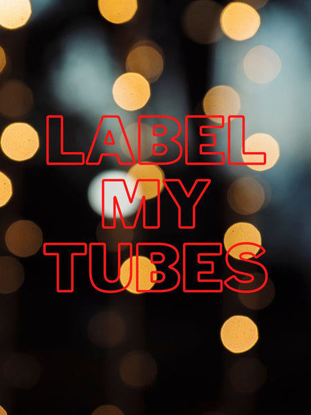 Label My Tubes