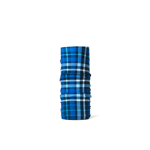 Blue Tartan Neck Warmer