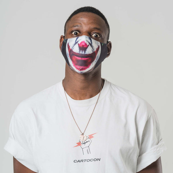 Clown Printed Face Mask