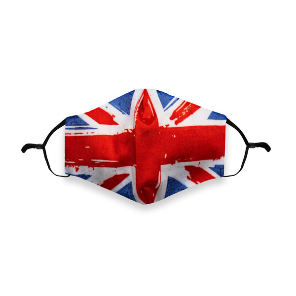 Union Jack Printed Face Mask