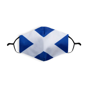 Saltire Printed Face Mask