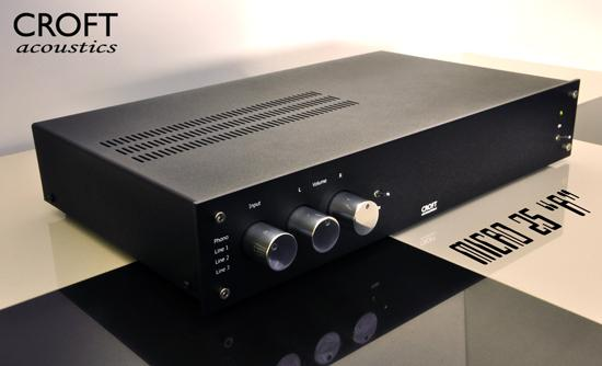 Croft Acoustics Micro 25R Preamplifier-Pre Amplifiers-Croft-Executive Stereo