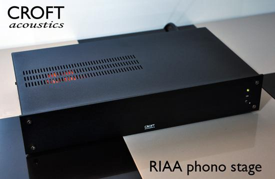 Croft Acoustics RIAA Phono Stage-Phono Preamplifiers-Croft-Executive Stereo