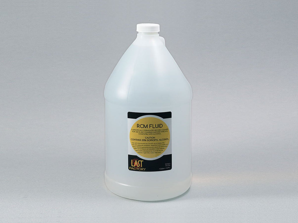 LAST Record Cleaning Machine Fluid - 1 Gallon