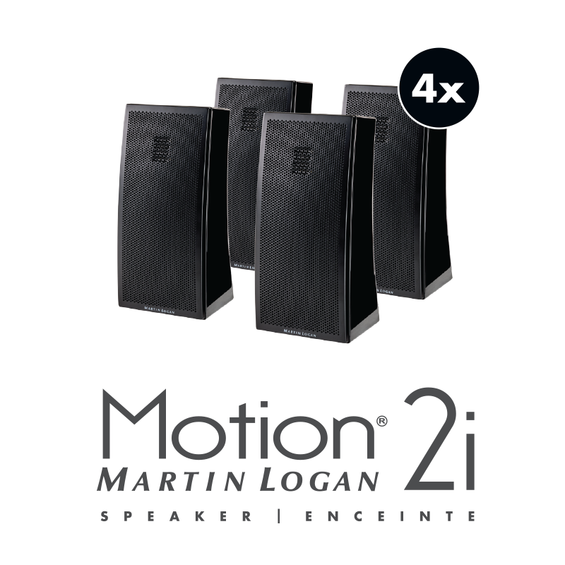MartinLogan Motion 5.1 Home Theater Speaker System-Speakers-Martin Logan-Executive Stereo