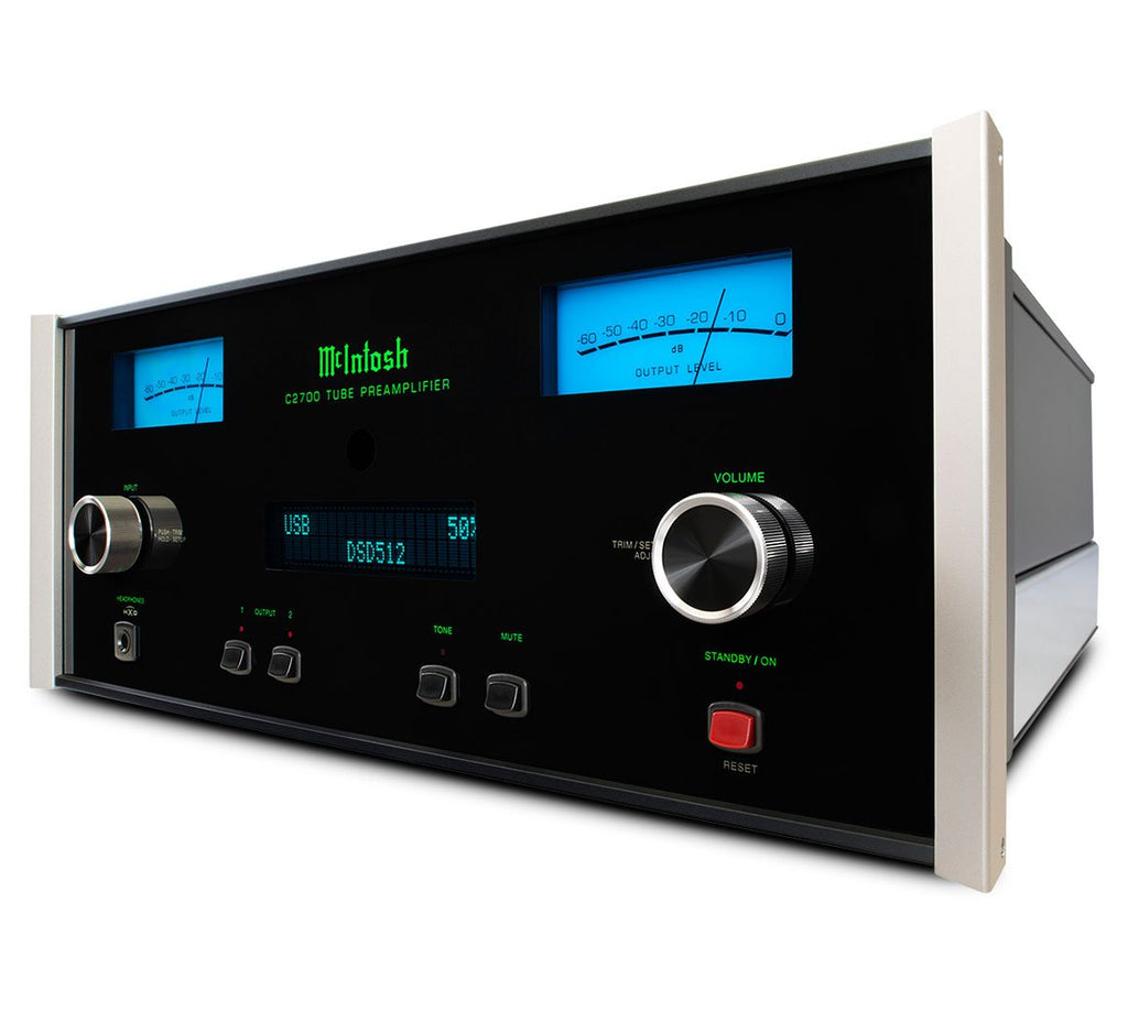 McIntosh C2700 Stereo Vacuum Tube Preamplifier