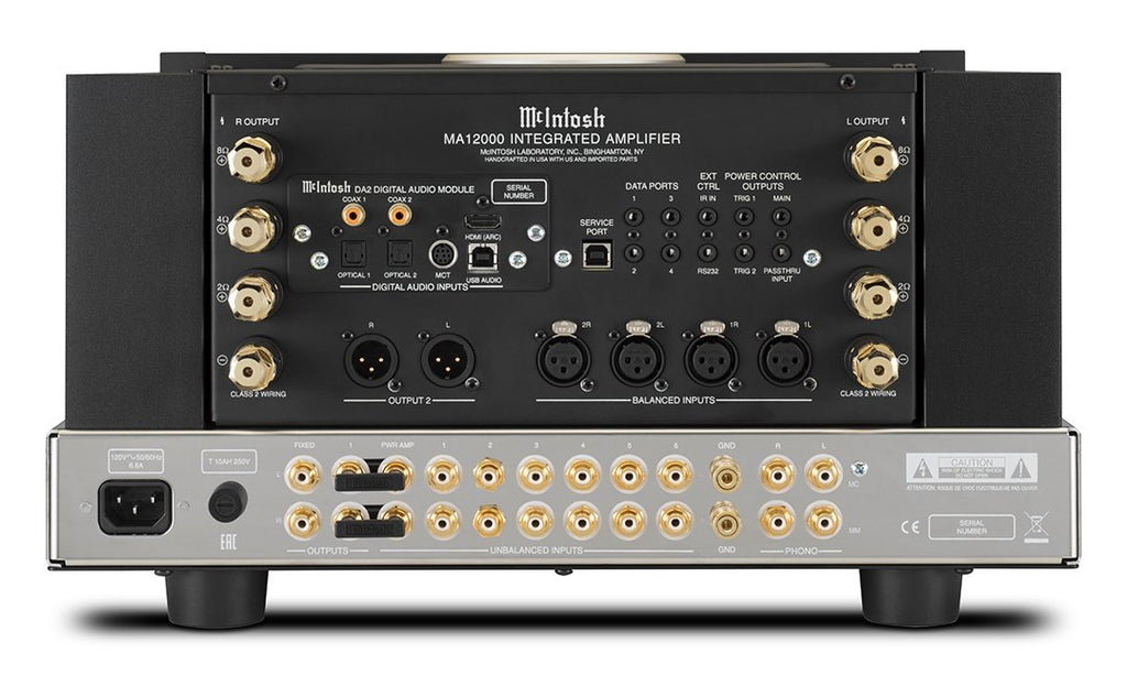 McIntosh MA12000 Hybrid Stereo Integrated Amplifier