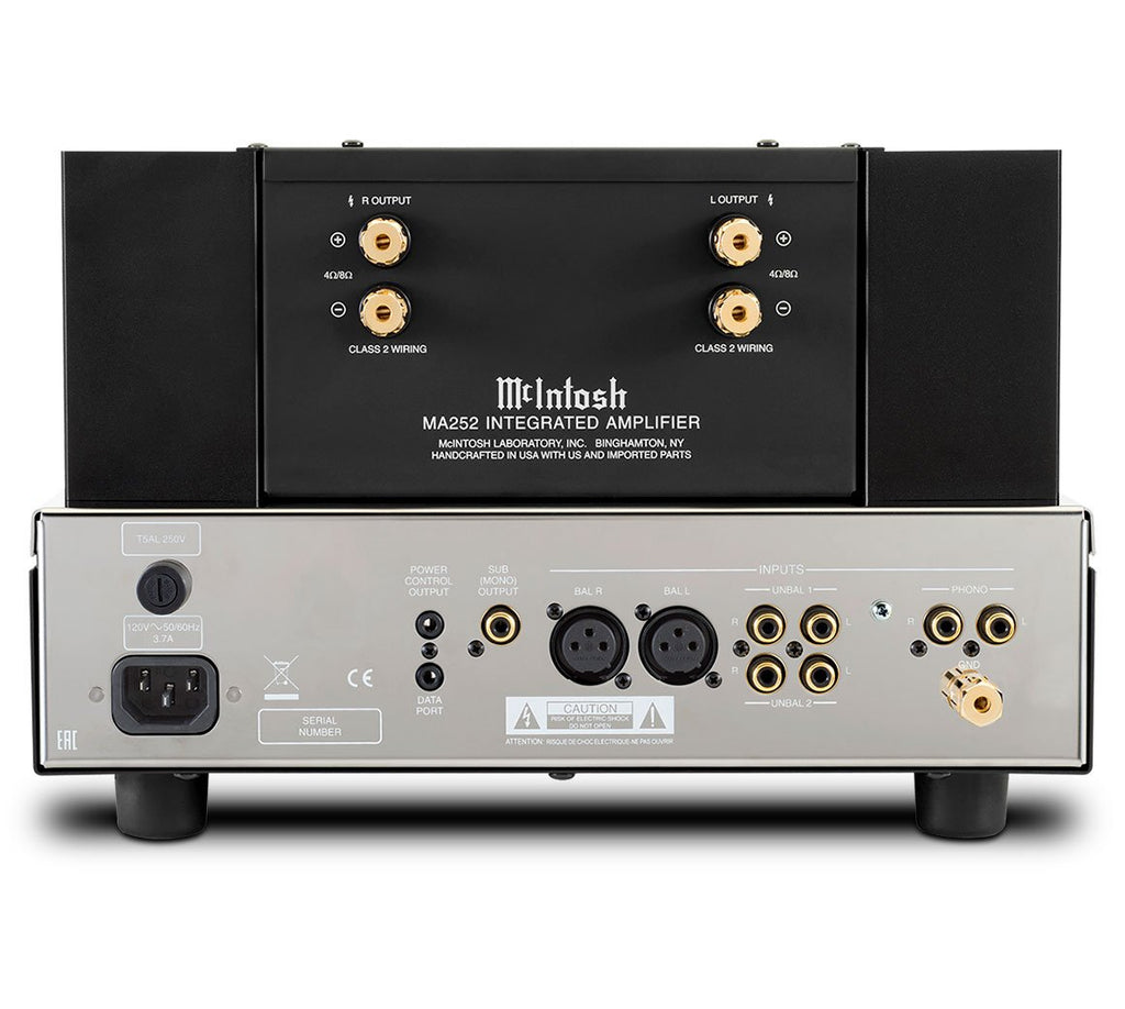 McIntosh MA252 Stereo Integrated Amplifier-Integrated Amplifiers-McIntosh-Executive Stereo