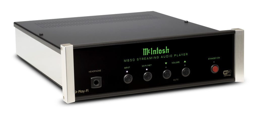 McIntosh MB50 Streaming Audio Player-Multimedia Players-McIntosh-Executive Stereo