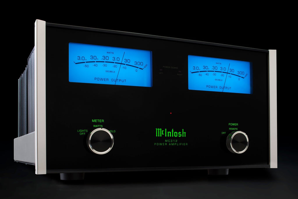 McIntosh MC312 Stereo Power Amplifier-Amplifiers-McIntosh-Executive Stereo