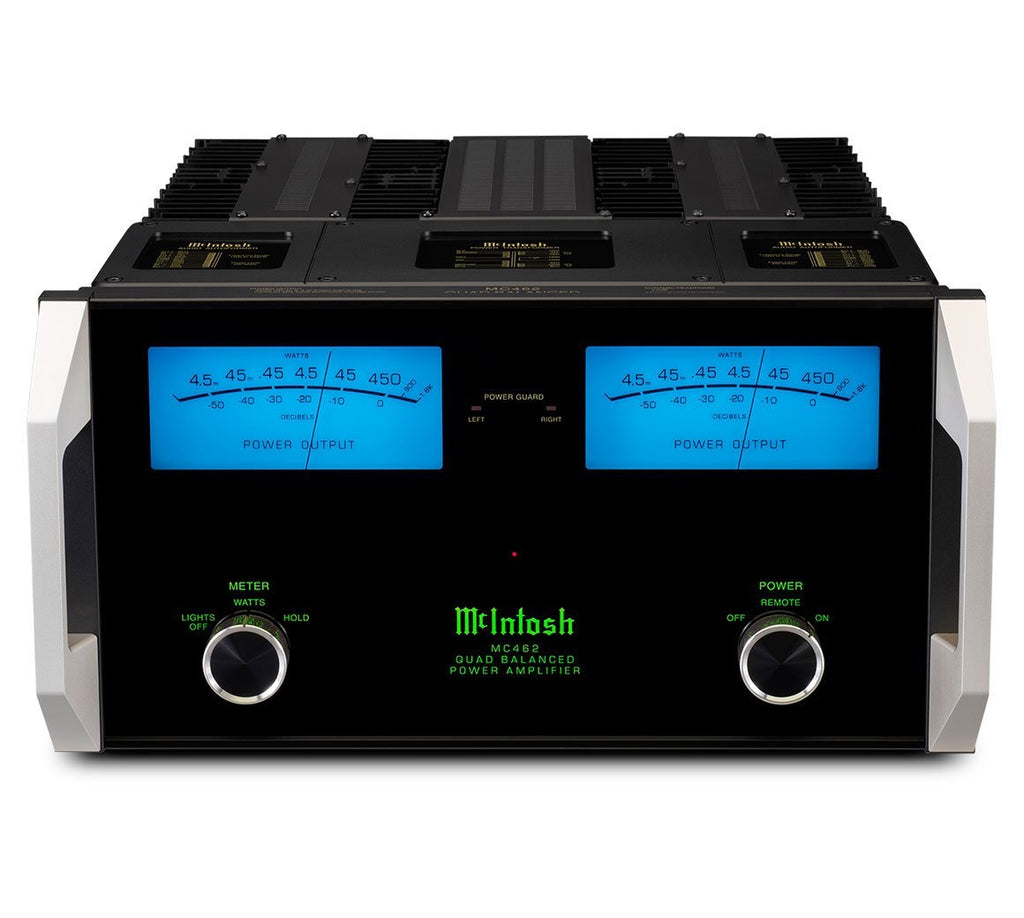 McIntosh MC462 Stereo Power Amplifier-Amplifiers-McIntosh-Executive Stereo