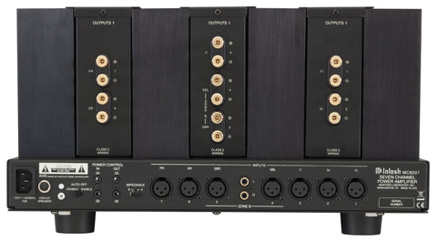 McIntosh MC8207 7-Channel Home Theater Amplifier-Amplifiers-McIntosh-Executive Stereo