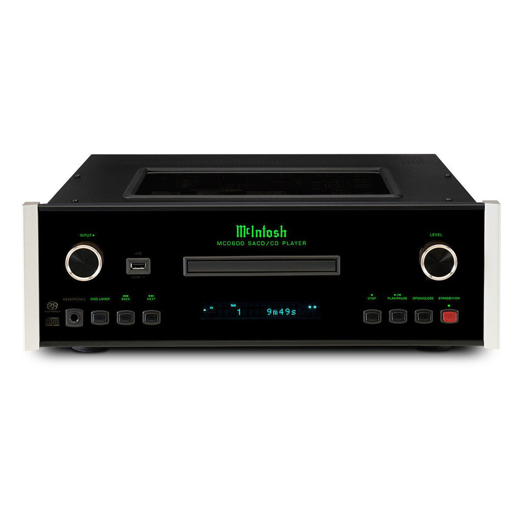 McIntosh MCD600 Stereo SACD/CD Player-CD Players-McIntosh-Executive Stereo