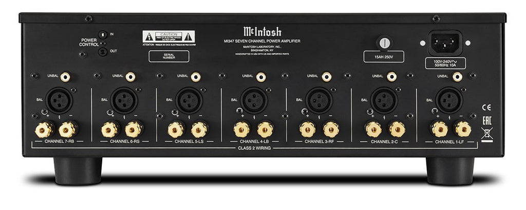 McIntosh MI347 7-Channel Digital Amplifier