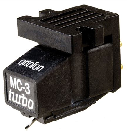 Ortofon MC 3 Turbo High Output Moving Coil Phono Cartridge