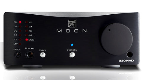 Simaudio MOON 230HAD Headphone Amplifier and DAC-DAC's-Simaudio MOON-Executive Stereo