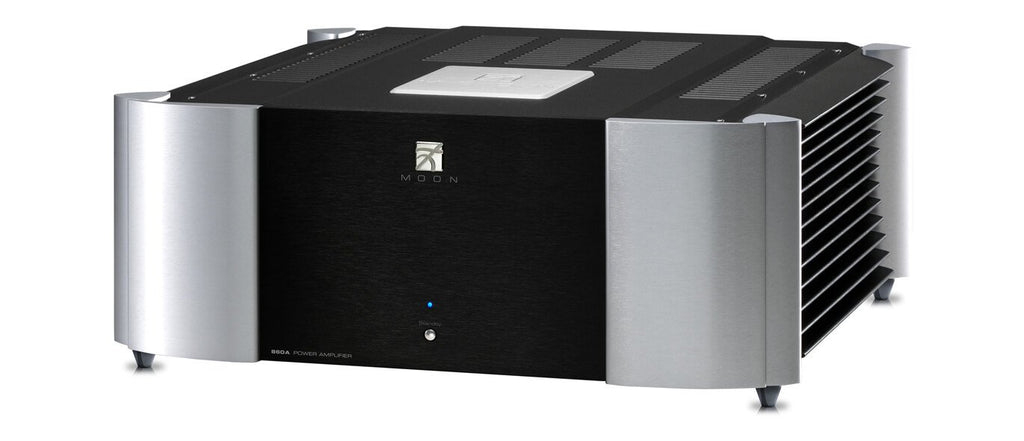 Simaudio Moon 860A Stereo Power Amplifier-Amplifiers-Simaudio MOON-Executive Stereo
