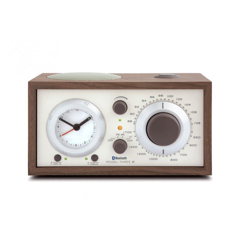 Tivoli Audio Model Three AM/FM Clock Radio with Bluetooth-Radios & Table Top Music Systems-Tivoli Audio-Walnut/Beige-Executive Stereo
