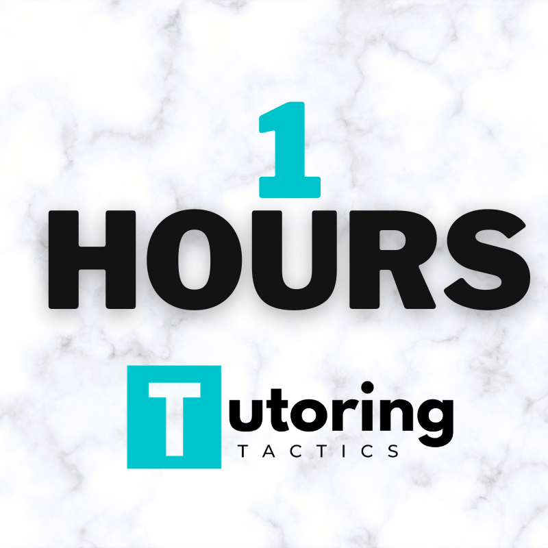 ACADEMIC TUTORING - 1 HOURS