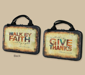 Give Thanks Bible/Book Bag