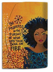 Be Fearless ...Soul On Fire Purse Pal