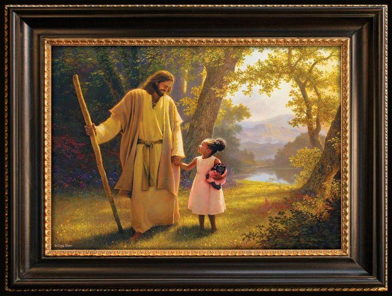 Hand in Hand Puzzle By Greg Olsen