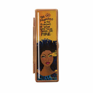 Be Fearless Lipstick Case