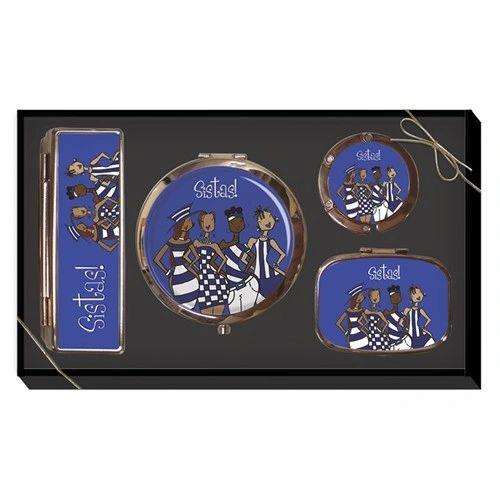 Blue Sistas! Purse Accessory Gift Set