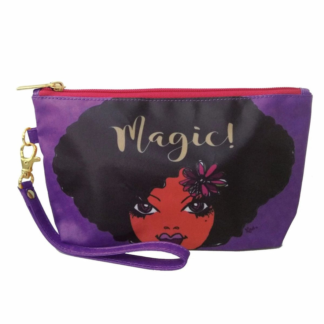 Magic ! Cosmetic Pouch by Kiwi McDowell