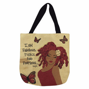 I Am Fabulous, Fierce and Fearless Tote