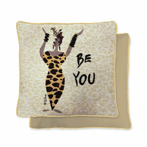 Be You Woven Pillow Cover