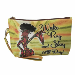 Wake, Pray and Slay Cosmetic Pouch