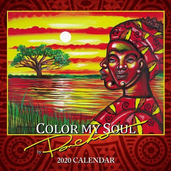 Color My Soul' 2020 Calendar